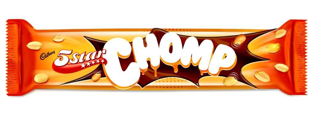Cadbury 5 Star Chomp Image