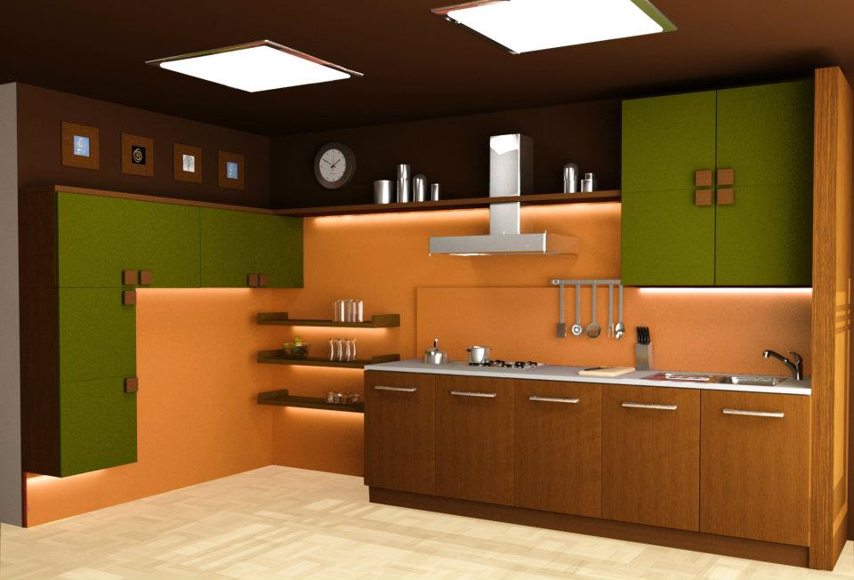 Great Design Indian Kitchen Image