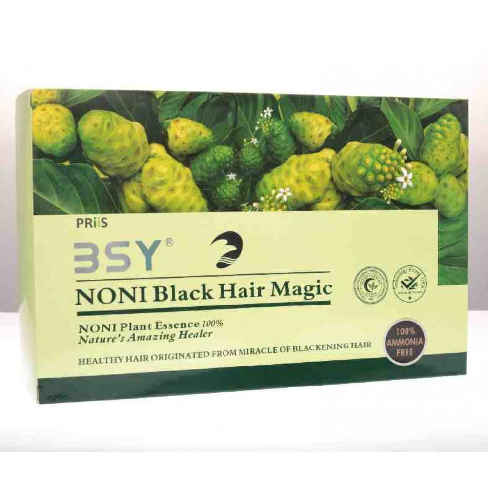 BSY Noni Black Herbal Hair Magic Shampoo Image