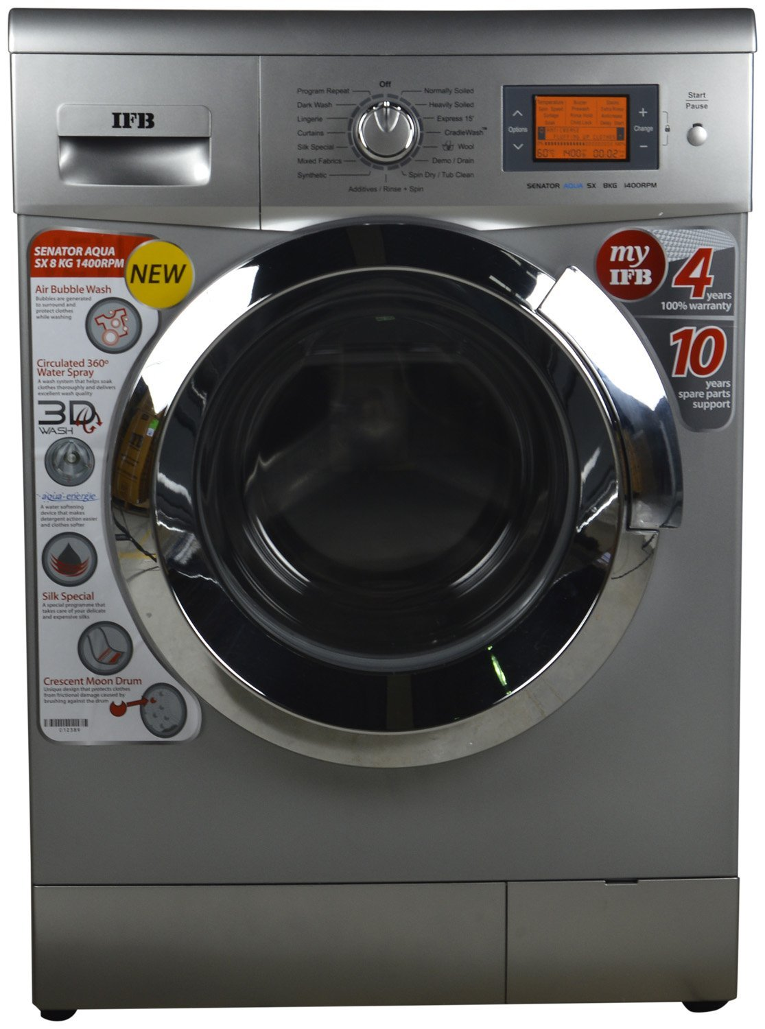 Ifb 8kg Automatic 8 Kg Washer Dryer Senator Sx Reviews Price