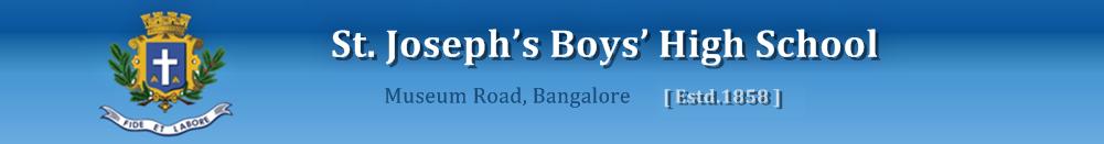 St. Joseph's Boys High School - Bangalore Image