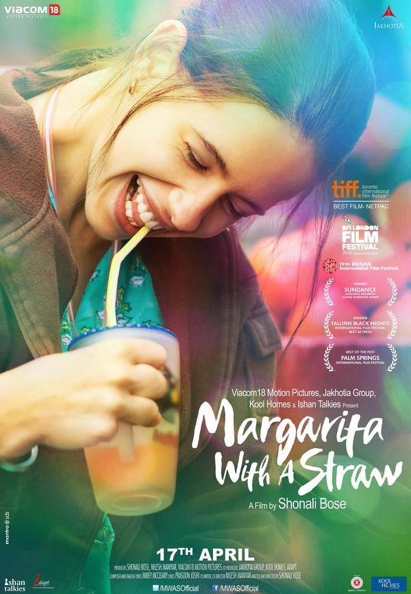Margarita With A Straw Image