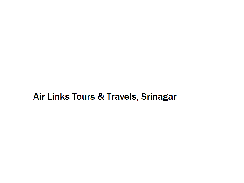 Air Links Tours & Travels - Srinagar Image