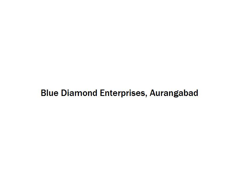 Blue Diamond Enterprises - Aurangabad Image