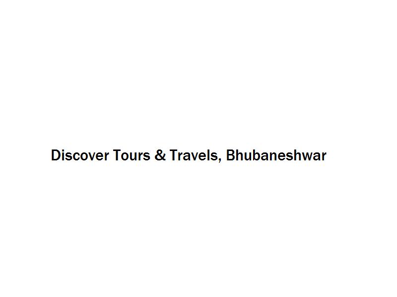 Discover Tours & Travels - Bhubaneshwar Image
