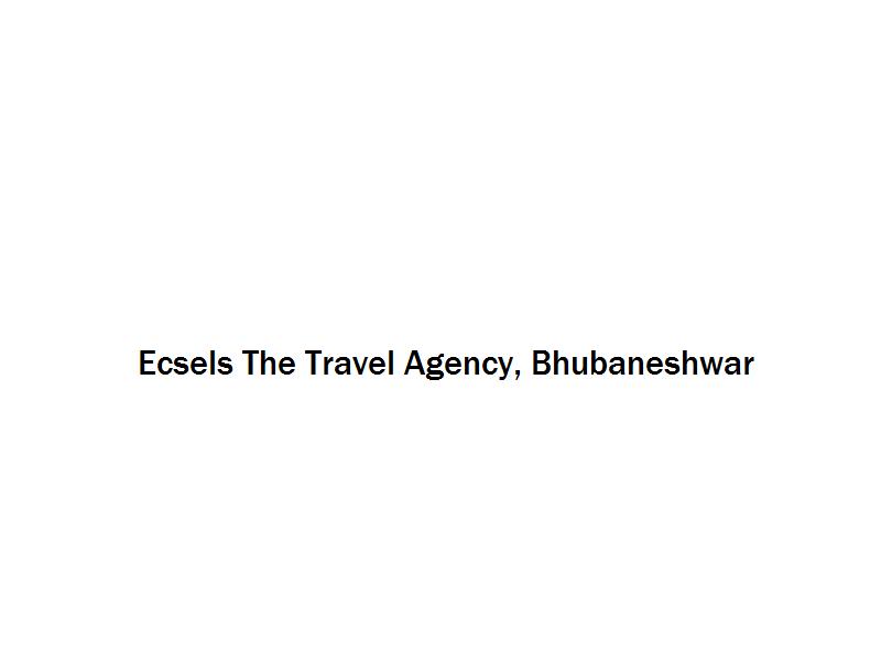 Ecsels The Travel Agency - Bhubaneshwar Image