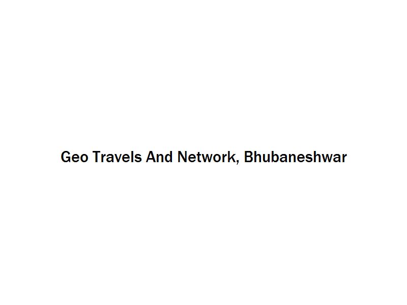 Geo Travels And Network - Bhubaneshwar Image
