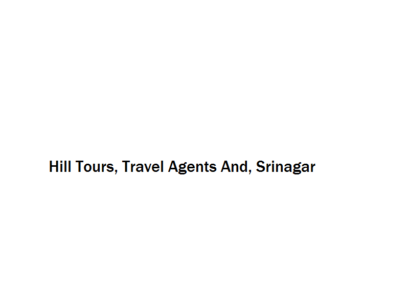 Hill Tours, Travel Agents And - Srinagar Image