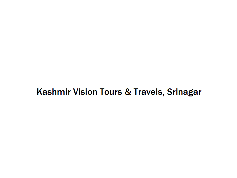 Kashmir Vision Tours & Travels - Srinagar Image