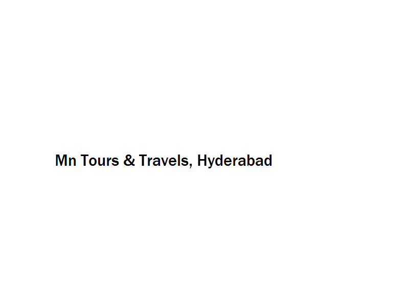 Mn Tours & Travels - Hyderabad Image