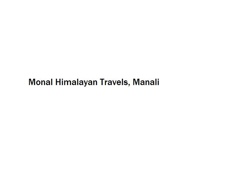 Monal Himalayan Travels - Manali Image