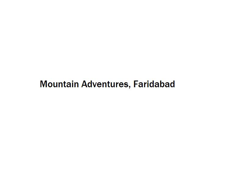 Mountain Adventures - Faridabad Image