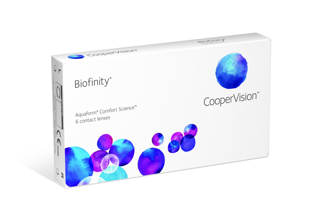 Cooper Vision Contact Lenses Image