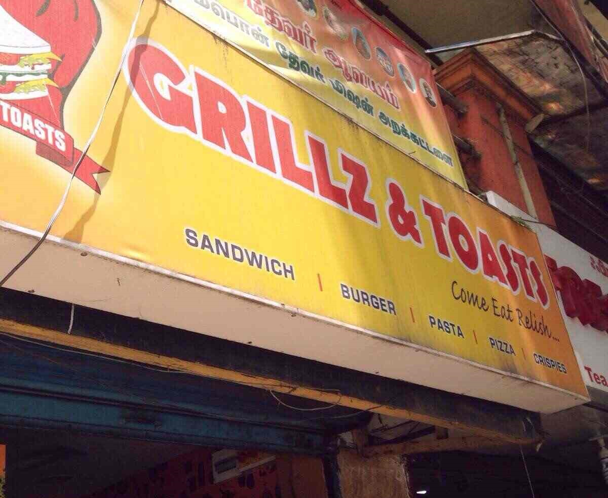 Grillz & Toasts - Nandanam - Chennai Image