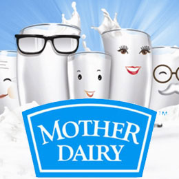 Mother Dairy Full Cream Milk Image