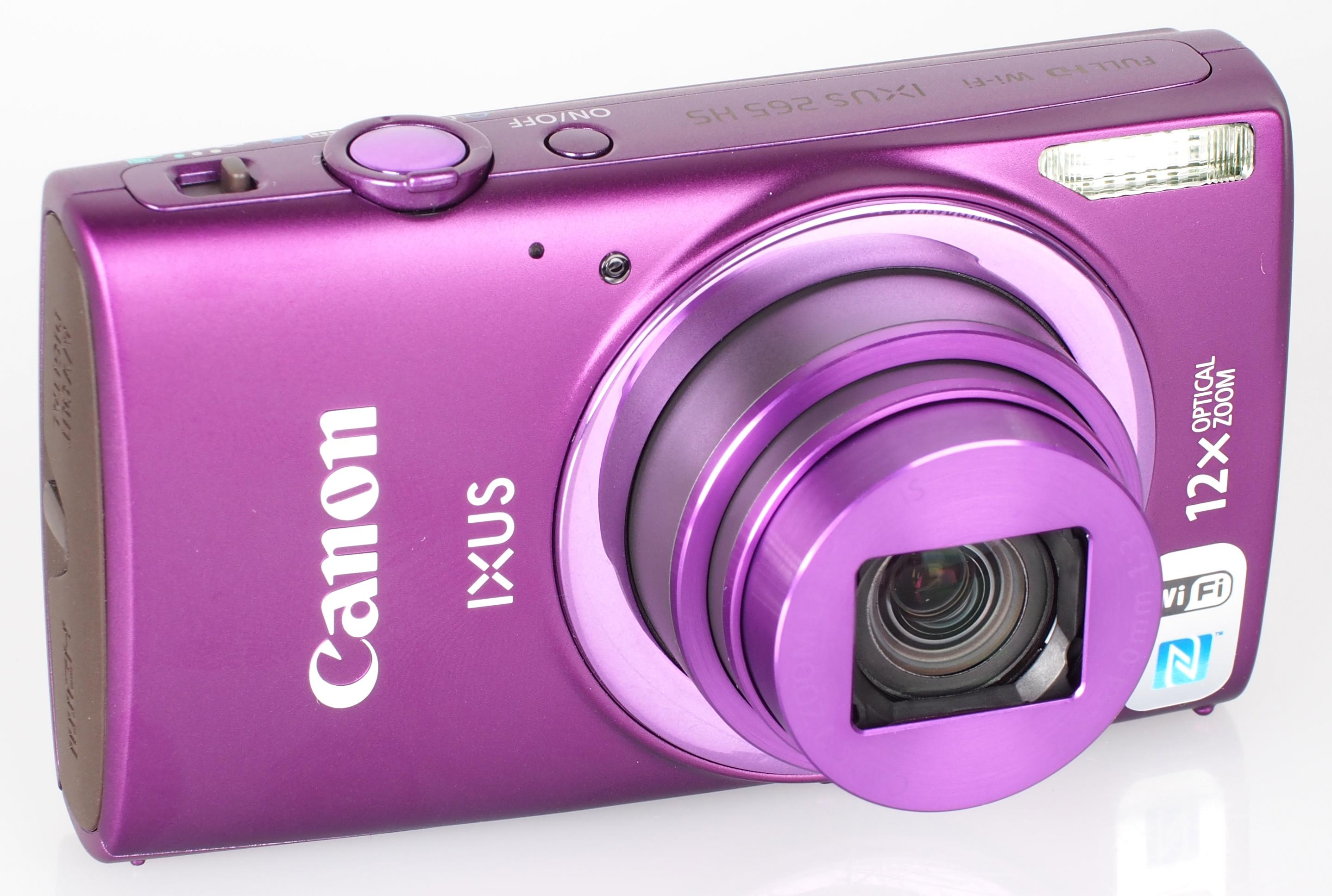 canon ixus 265 hs user manual
