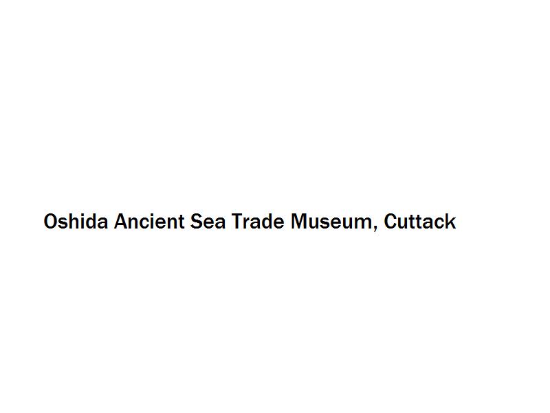 Oshida Ancient Sea Trade Museum - Cuttack Image
