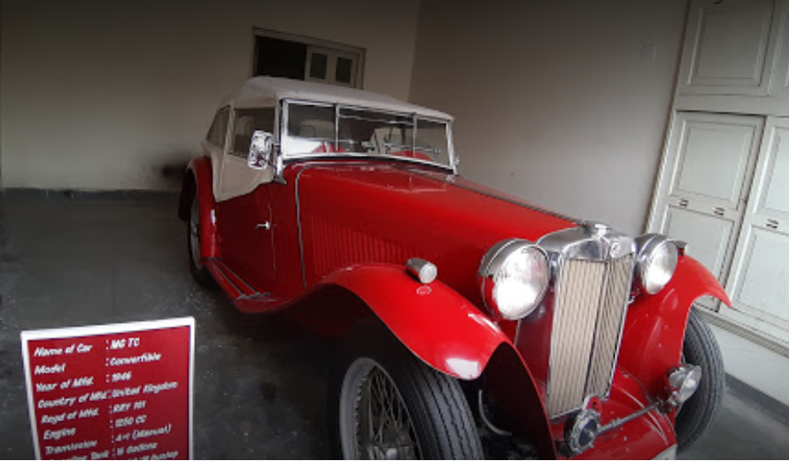 Vintage Collection of Classic Car Museum - Udaipur Image