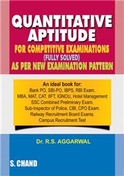 Quantitative Aptitude for Competitive Examinations - R S Aggarwal Image