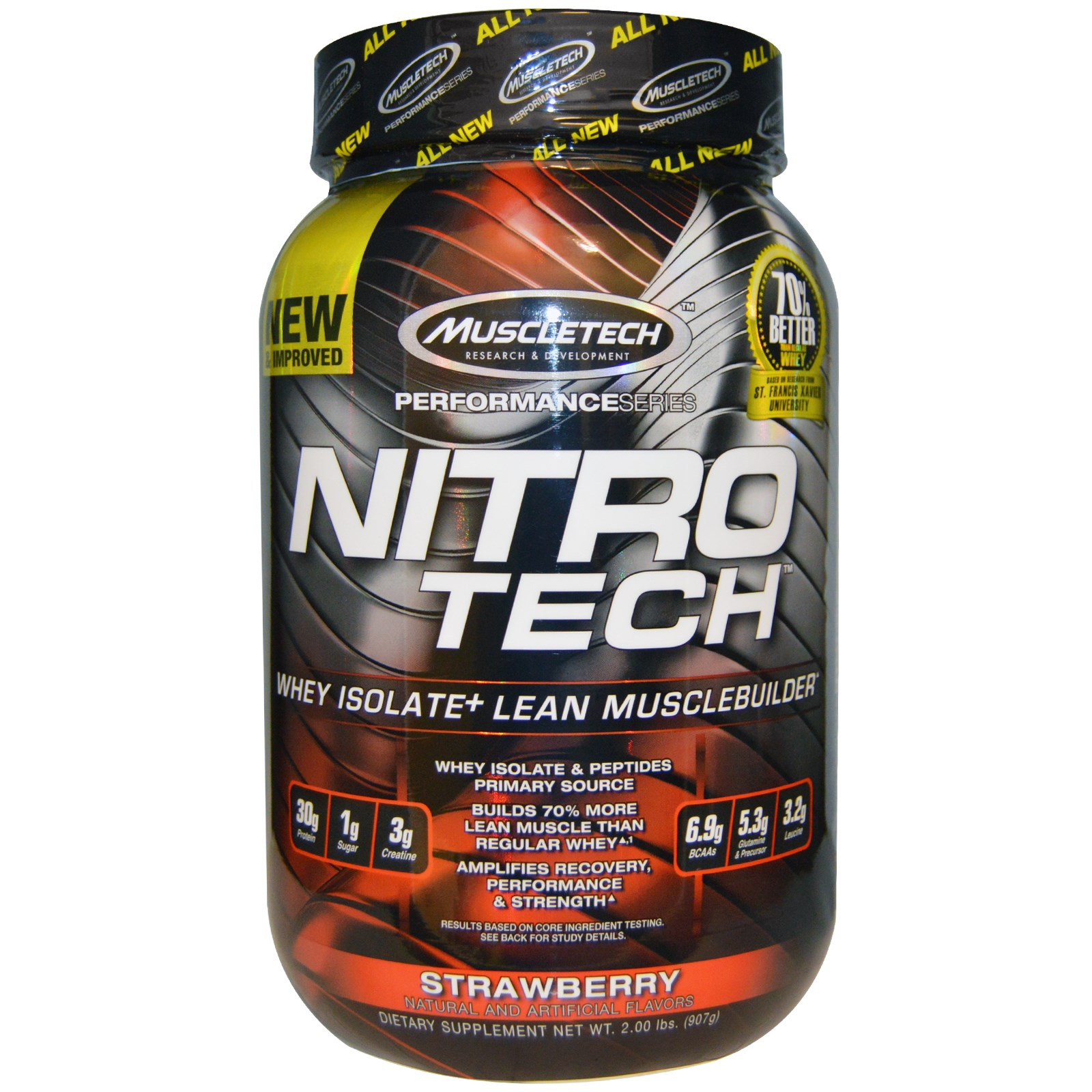 Nitrotech Muscletech Whey Protein Image