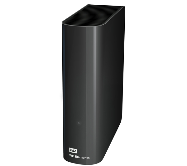 WD Elements Basic Storage Stockage Simplement 3 TB Image