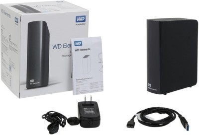 WD Elements Basic Storage Stockage Simplement 2 TB Image