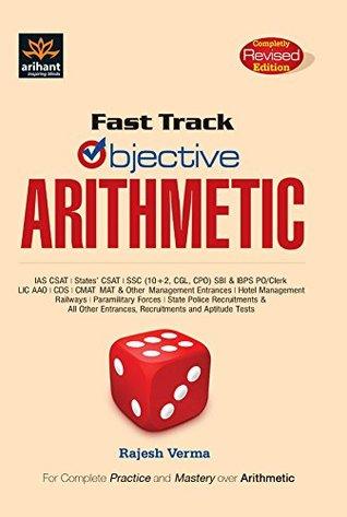 Fast Track Objective Arithmetic - Rajesh Verma Image