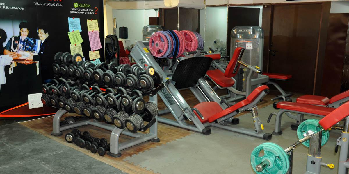 Dronacharyas The Gym - Hudson Lane - Delhi Image