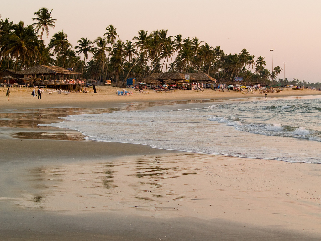 Colva Beach Goa Image