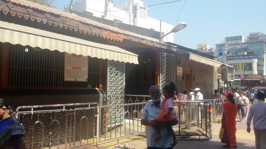 Baba'S Chavad Dwarkamai Masjid - Shirdi Image