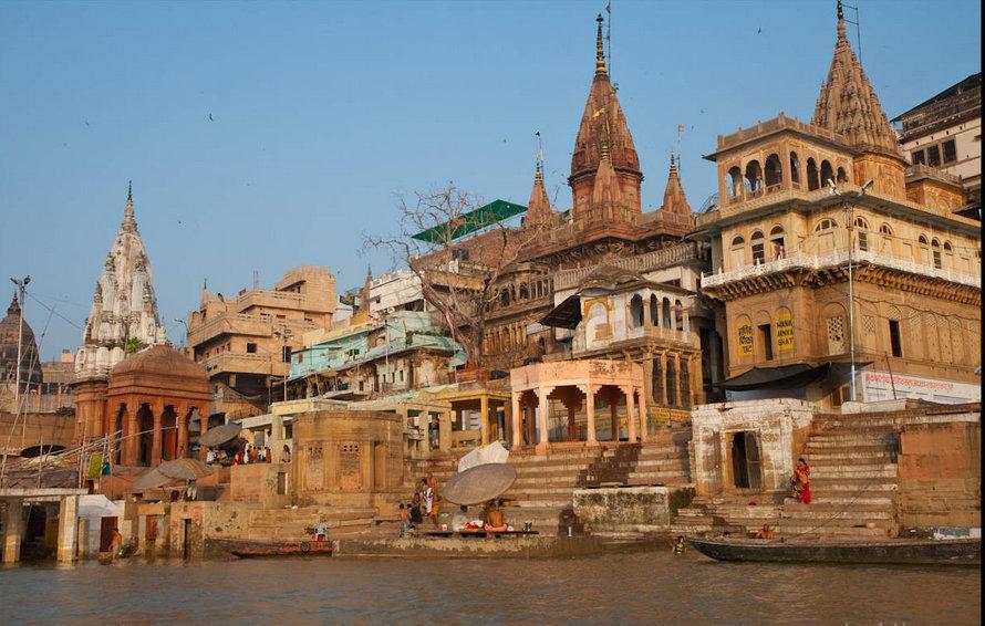 Manikarnika Ghat - Varanasi Image