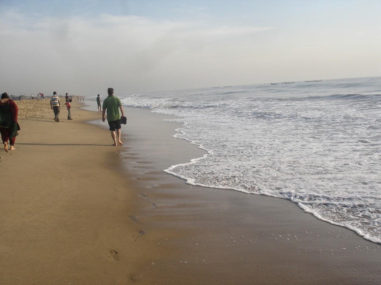 Besant Nagar Beach - Chennai Image