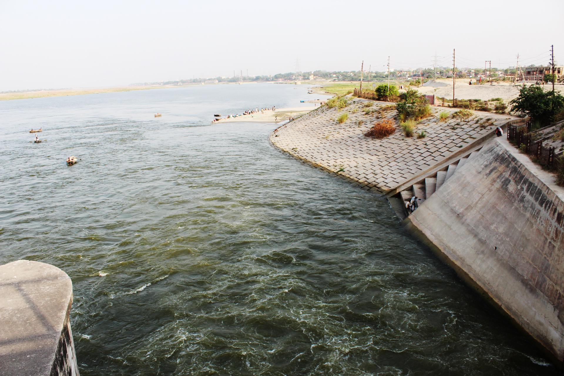 Ganga Barrage - Kanpur Image