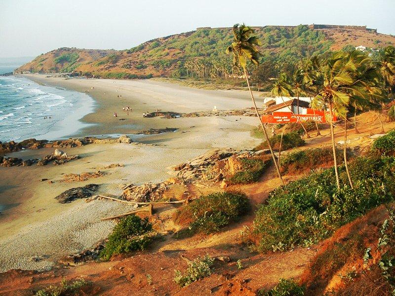 Vagator Beach - Goa Image