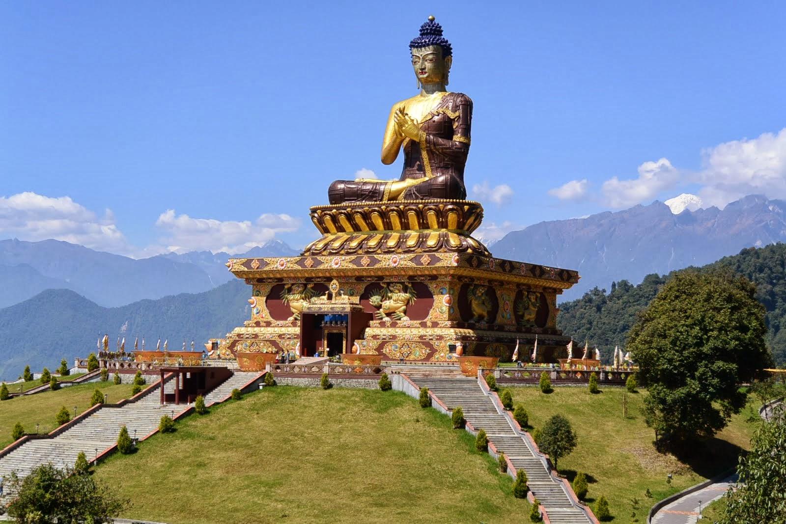 Image result for ravangla buddha statue