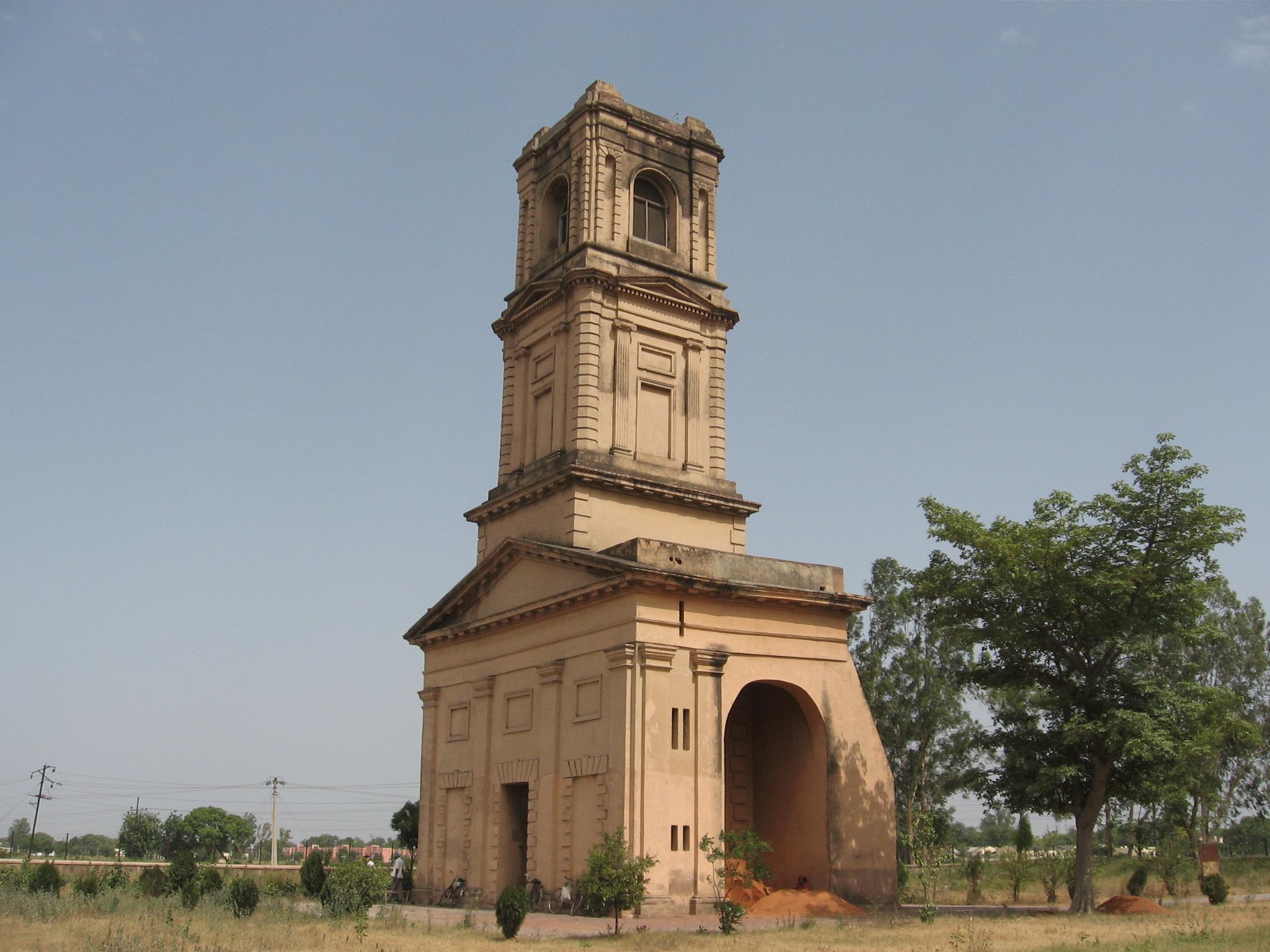 Cantonment Church Tower - Karnal Image