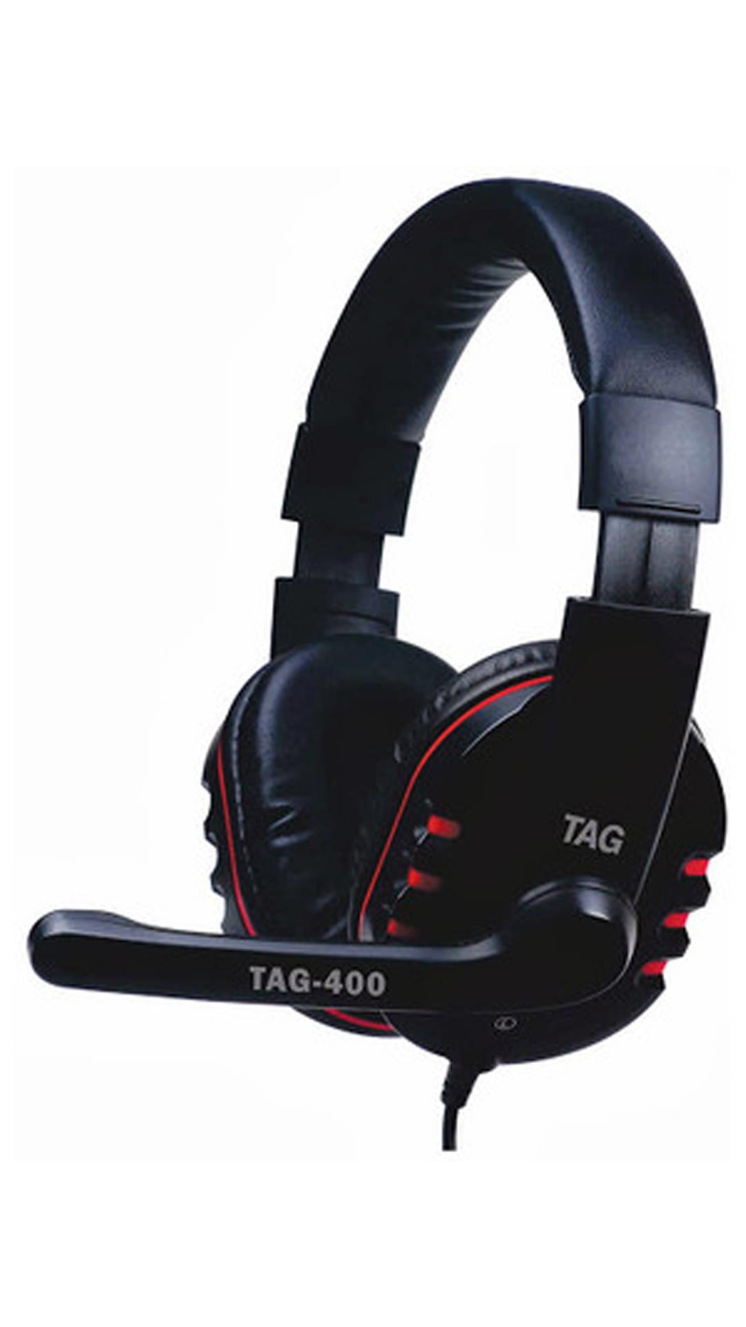TAG Headphone with Mic USB-400 Image