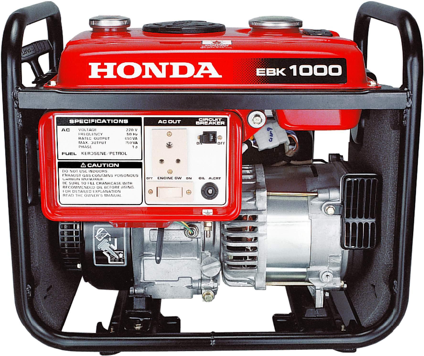 Good for household HONDA PORTABLE GENSETS EBK1000 Consumer