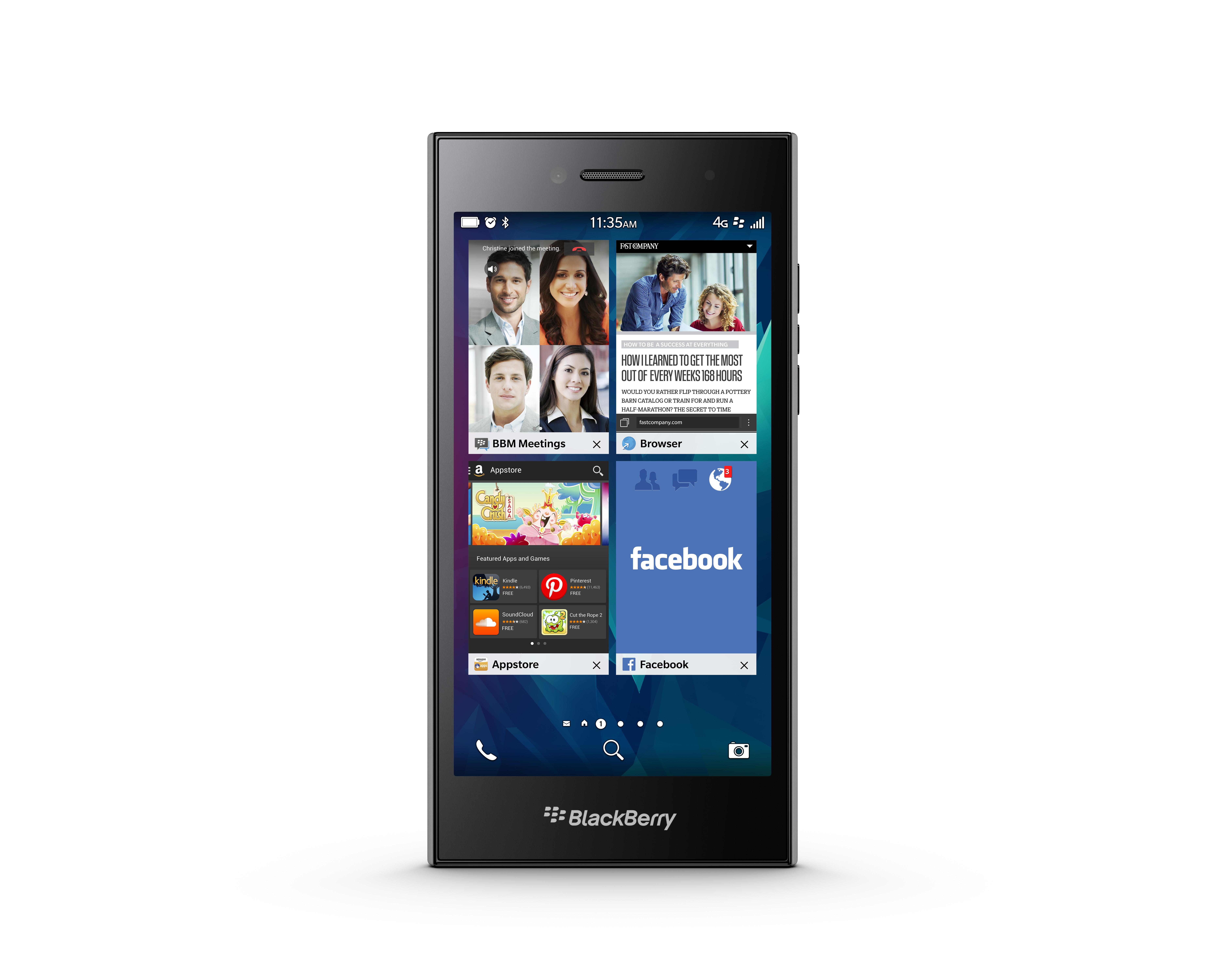 Blackberry Leap Image