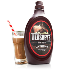 How to make hot chocolate with milk and hersheys syrup