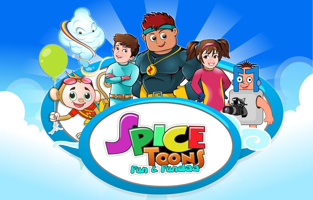 Spicetoons Game Image