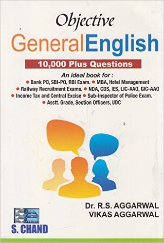 Objective General English - RS Aggarwal Image