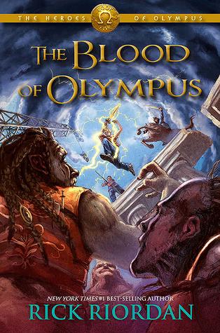 The Blood of Olympus - Rick Riordan Image