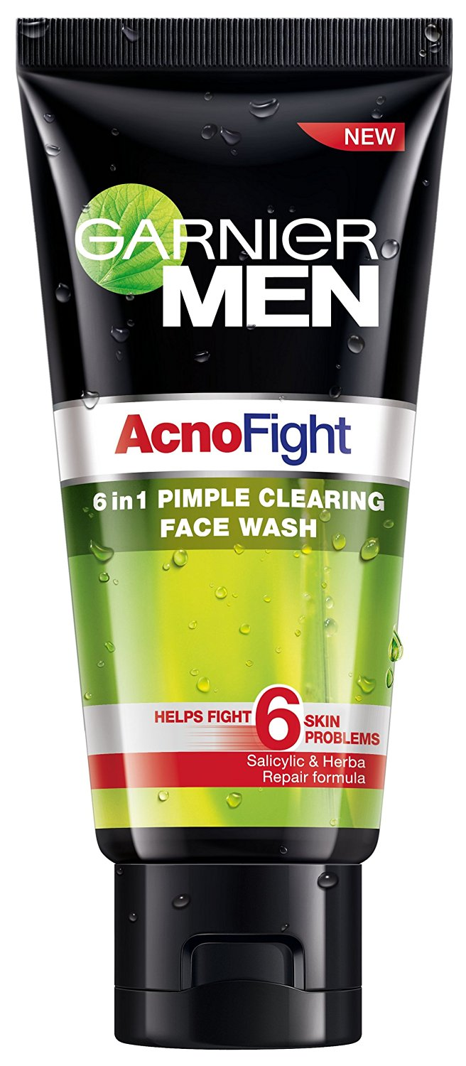 Garnier Men Acno Fight 6 in1 Pimple Clearing Face Wash Image