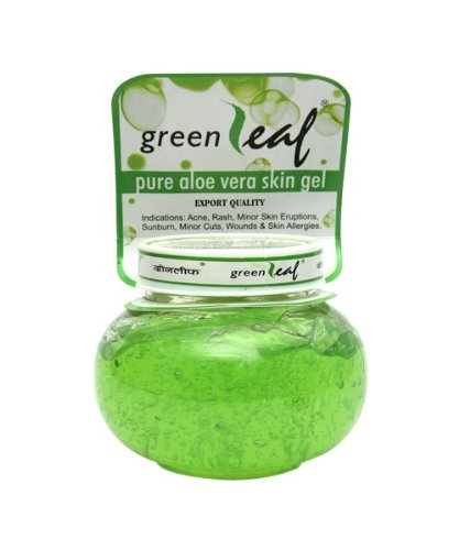Green Leaf Pure Aloe Vera Skin Gel Reviews Price Men Women