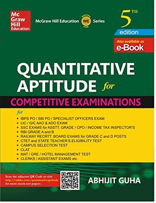 Quantitative Aptitude for Competitive Examination - Abhijit Guha Image