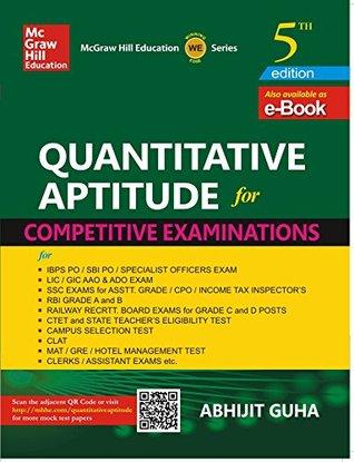 Quantitative Aptitude for Competitive Examination - Abhijit Guha Image