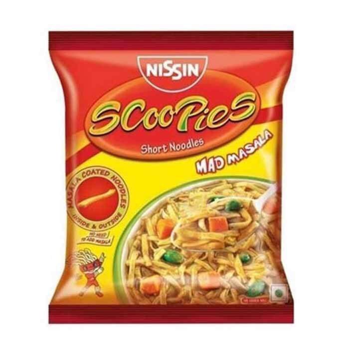 Nissin Scoopies Mad Masala Short Noodles Image