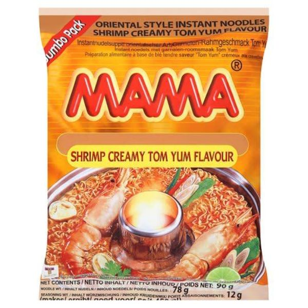 Mama Tom Yum Flavour Instant Noodles Image