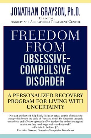 Freedom from Obsessive Compulsive Disorder - Jonathan Grayson Image